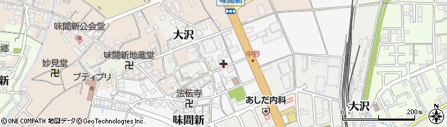 兵庫県丹波篠山市中野周辺の地図