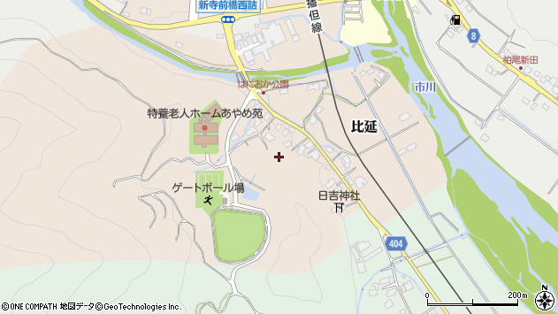 〒679-3115 兵庫県神崎郡神河町比延の地図