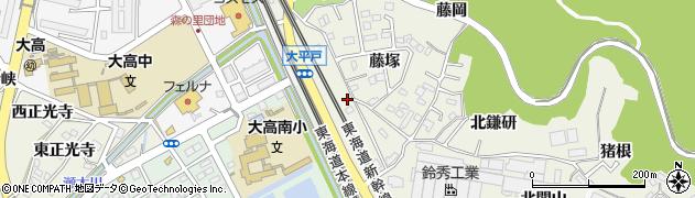 愛知県名古屋市緑区大高町(大平戸)周辺の地図