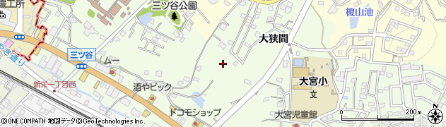 愛知県豊明市前後町周辺の地図
