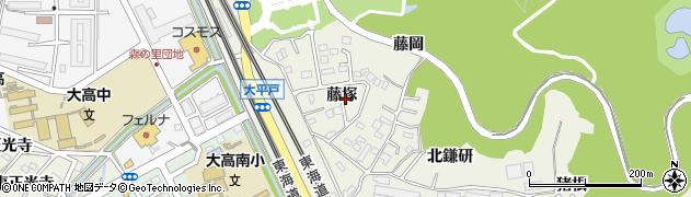 愛知県名古屋市緑区大高町(藤塚)周辺の地図