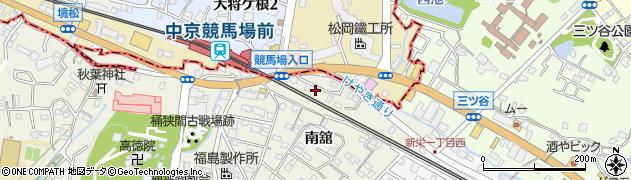 愛知県豊明市栄町(舘)周辺の地図