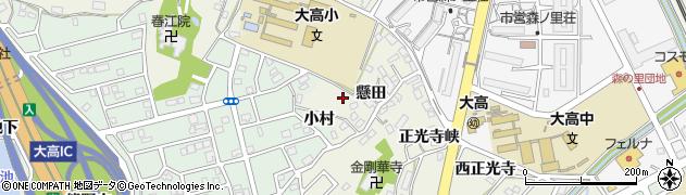 愛知県名古屋市緑区大高町(神宮戸)周辺の地図