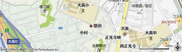 愛知県名古屋市緑区大高町神宮戸周辺の地図