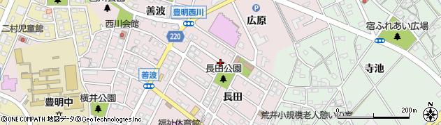 愛知県豊明市西川町周辺の地図