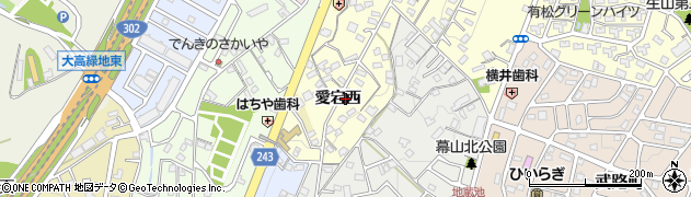 愛知県名古屋市緑区有松町大字桶狭間(愛宕西)周辺の地図