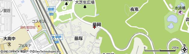 愛知県名古屋市緑区大高町(藤岡)周辺の地図