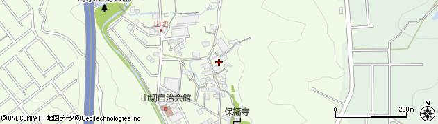 静岡県静岡市清水区山切周辺の地図