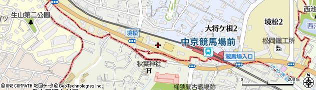 デリコム名古屋緑店周辺の地図