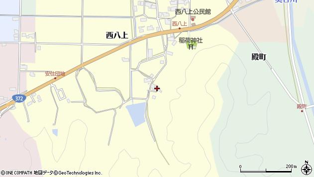 〒669-2433 兵庫県丹波篠山市西八上の地図