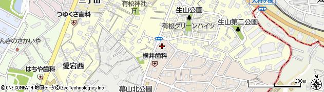 空庵周辺の地図