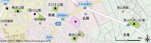 愛知県豊明市西川町(広原)周辺の地図