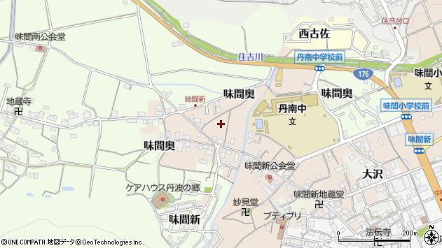 〒669-2214 兵庫県丹波篠山市味間新の地図