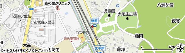 愛知県名古屋市緑区大高町(阿原)周辺の地図