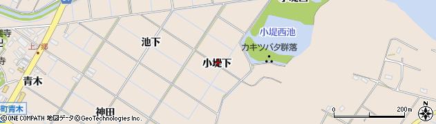 愛知県刈谷市井ケ谷町(小堤下)周辺の地図