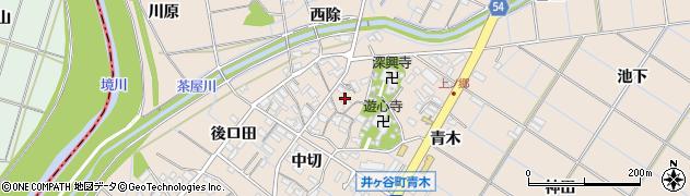 愛知県刈谷市井ケ谷町(上ノ郷)周辺の地図