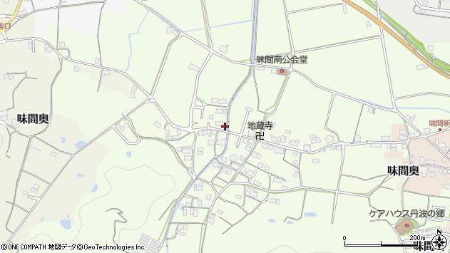 〒669-2222 兵庫県丹波篠山市味間南の地図