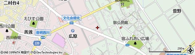 カフェレストカーメル豊明店周辺の地図