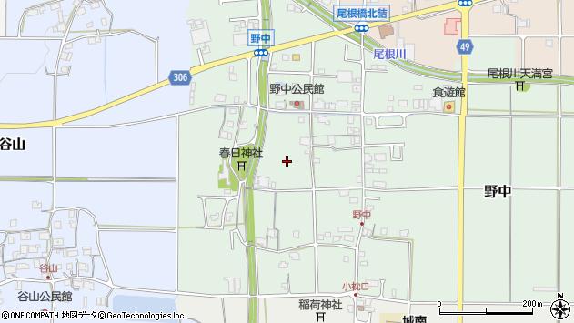 〒669-2452 兵庫県丹波篠山市野中の地図
