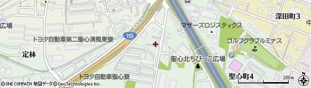 五条周辺の地図