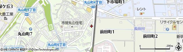 ぽんた周辺の地図