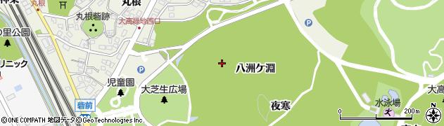 愛知県名古屋市緑区大高町(大正木)周辺の地図