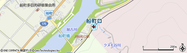 兵庫県西脇市周辺の地図