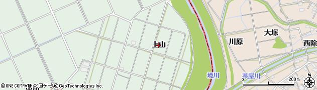 愛知県豊明市沓掛町(上山)周辺の地図