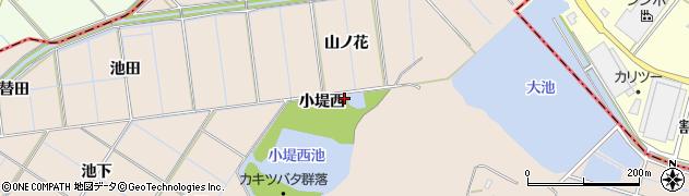 愛知県刈谷市井ケ谷町(小堤西)周辺の地図