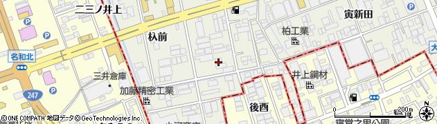愛知県名古屋市緑区大高町(二番割)周辺の地図