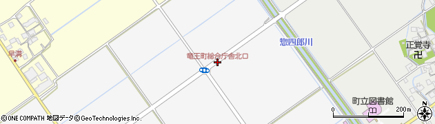竜王町総合庁舎北口周辺の地図