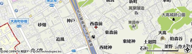 愛知県名古屋市緑区大高町(西森前)周辺の地図