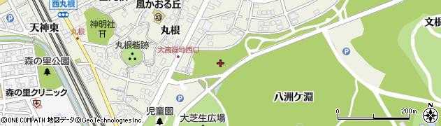 愛知県名古屋市緑区大高町(三凹山)周辺の地図