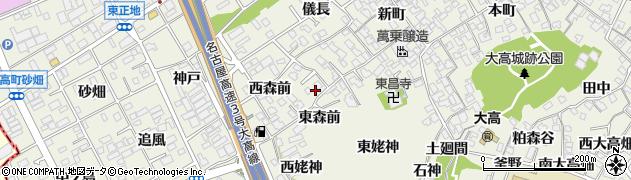 愛知県名古屋市緑区大高町周辺の地図