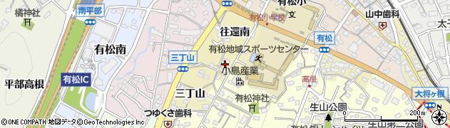 愛知県名古屋市緑区有松町大字有松周辺の地図