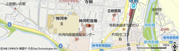 兵庫県神崎郡神河町周辺の地図