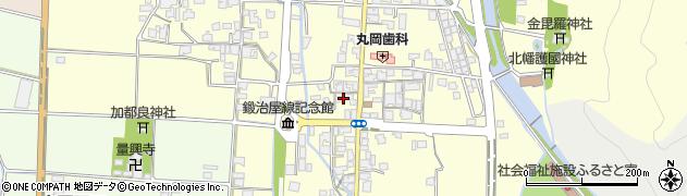 兵庫県多可町(多可郡)中区鍛冶屋周辺の地図