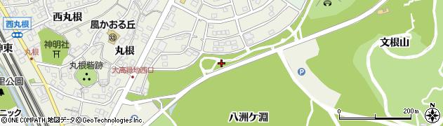 愛知県名古屋市緑区大高町(西太郎山)周辺の地図