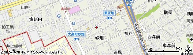 愛知県名古屋市緑区大高町(子ノ年)周辺の地図
