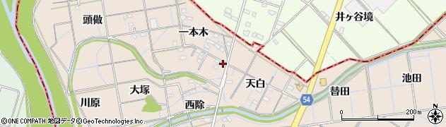 愛知県刈谷市井ケ谷町(山ノ神)周辺の地図