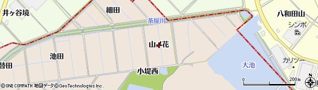愛知県刈谷市井ケ谷町(山ノ花)周辺の地図