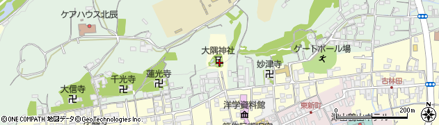 大隅神社周辺の地図