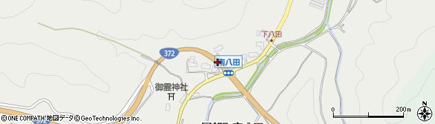 京都府南丹市園部町南八田(宮ノ越)周辺の地図