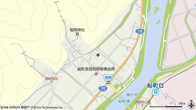〒679-0304 兵庫県西脇市黒田庄町船町の地図