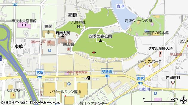 〒669-2203 兵庫県丹波篠山市吹新の地図