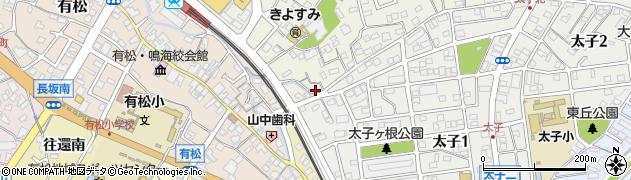 愛知県名古屋市緑区鳴海町(大将ケ根)周辺の地図