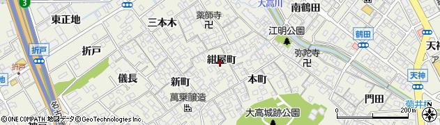 愛知県名古屋市緑区大高町(紺屋町)周辺の地図