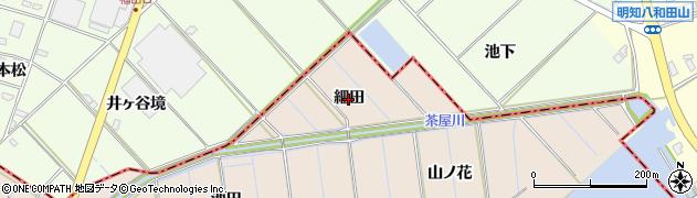 愛知県刈谷市井ケ谷町(細田)周辺の地図