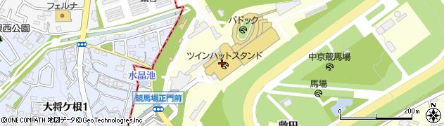 吉野家 中京競馬場店周辺の地図