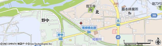 兵庫県丹波篠山市北周辺の地図